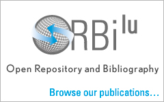 ORBiLu, Open Repository and Bibliography of the University of Luxembourg