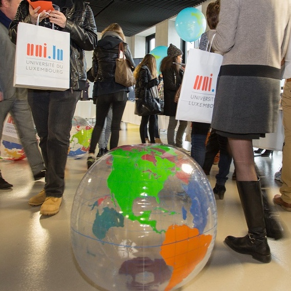 Internationality at the heart of the 2016 Open Day programme, © Michel Brumat / University of Luxembourg