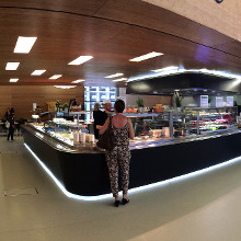"""Restaurant de l'Université"" is open! © Université du Luxembourg"
