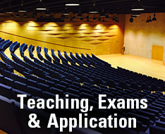 Frequently asked questions: Teaching, Exams and Applications
