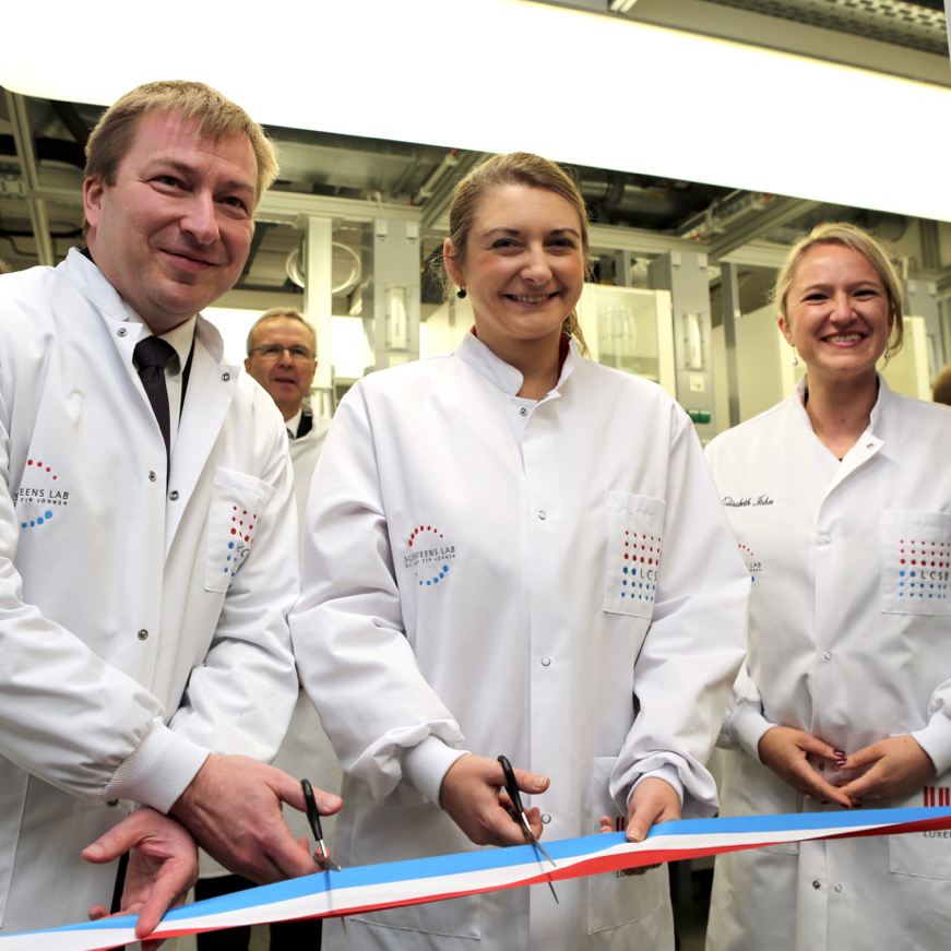 Inauguration of the new lab in 2016