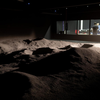 The LunaLab simulates the surface of the moon