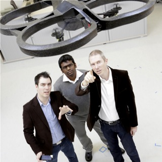 Using a quadrocopter in the lab of the Automation Research Group