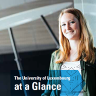 The University of Luxembourg at a Glance (PDF)
