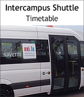 Intercampus Shuttle of the University of Luxembourg