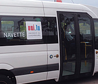 Connecting campuses with the University shuttle