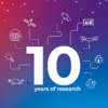 Annual Report Cover - 10 Years of Research
