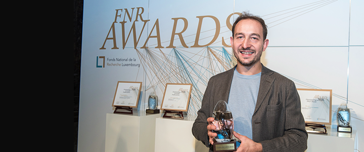 Two University awardees at the 8th edition of the FNR Awards