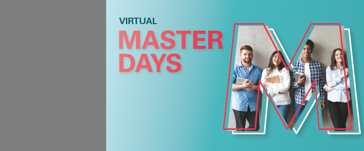Virtual Master Days inform about study programmes