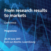 From research results to markets - 2017 conference