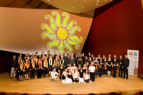 University of Luxembourg Choir in concert © University of Luxembourg - Michel Brumat